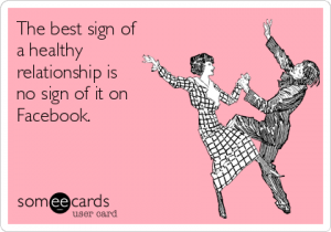 keep dating off of social media